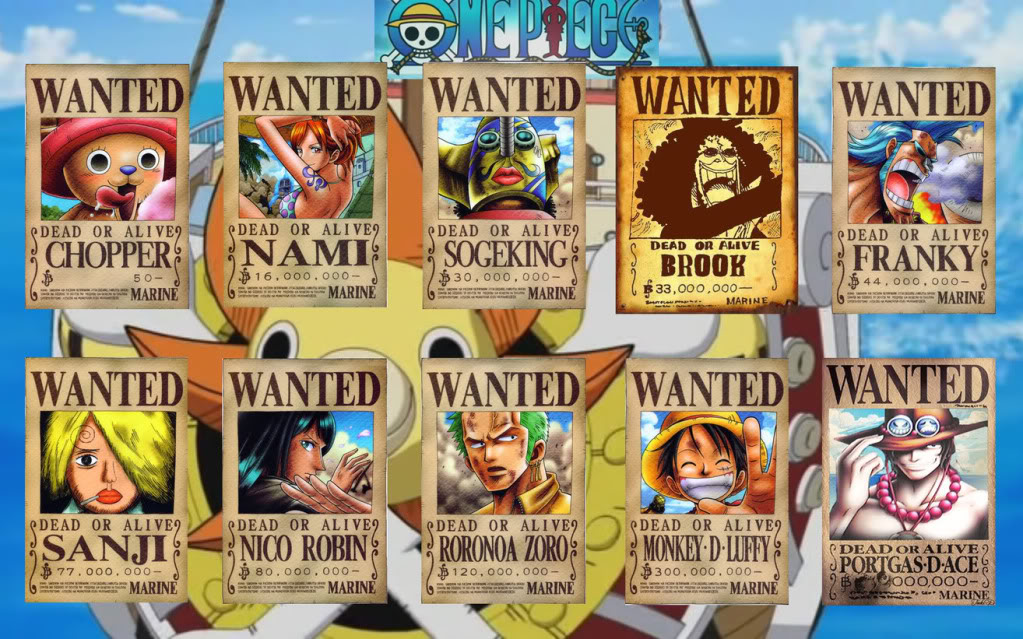 Strawhat Pirates Crew - Pinoy ONEPIECE Fansite